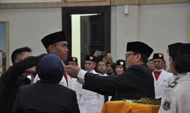 Gubernur Kukuhkan Paskibraka Banten