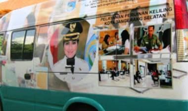 Genjot Optimalkan Pelayanan, Desember 2018 Mobil Keliling DPMPTSP Tangsel Hadir di 3 Tempat