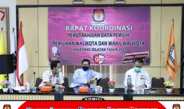 Anggota dan Staf KPU Tangsel Terpapar Covid, Pilkada Jalan Terus Nih?