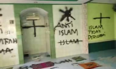 Masih Ingat Corat-coret Anti Islam di Tangerang, Begini Hasil Tes Kejiwaan Pelaku
