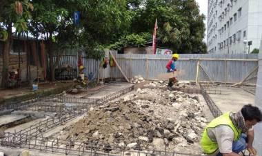Proyek Tambah Ruang Gedung RSUD Kota Tangerang Tak Jelas?