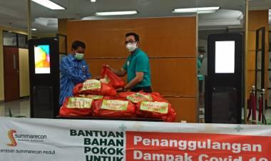 Antisipasi Bencana Kabupaten Tangerang Terima Bantuan Sembako