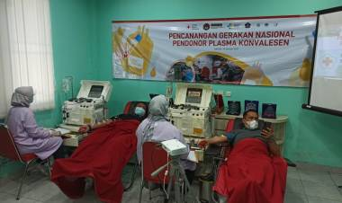 PMI Kabupaten Tangerang Gelar Donor Plasma Konvalesen Untuk Penderita Covid19