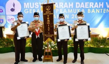 Kwarcab Tangerang Kembali Jadi Kwarcab Paling Giat di Banten