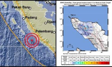 3 Kali Gempa Susulan, BMKG Sebut Tidak Berpotensi Tsunami