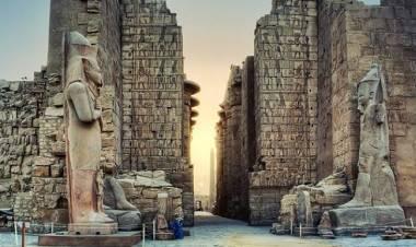 WOW! Arkeolog Temukan Kota Firaun Kuno