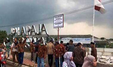 Warga Sentiong Tetap Perjuangkan Tanah Bengkok di Proyek Pasar Tematik : Itu Aset Desa
