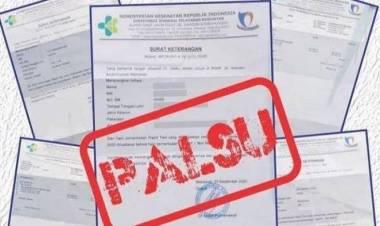 5 Pelaku Pemalsuan Surat Swab Antigen di Pelabuhan Merak Terancam 10 Tahun Penjara