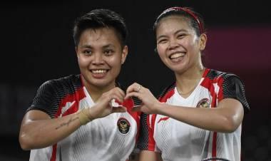 Emas Pertama Indonesia! Greysia-Apriyani Juara Bulu Tangkis Olimpiade Tokyo