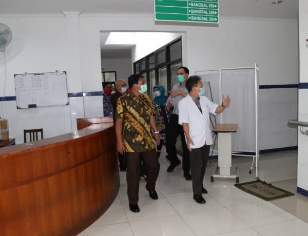 Pemkab Tangerang Sisir RS Swasta Cari Ruang Inap Pasien Covid