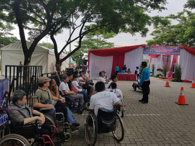 Peringati Hari Disabilitas, Dirlantas Polda Manjakan Penyandang Disabilitas
