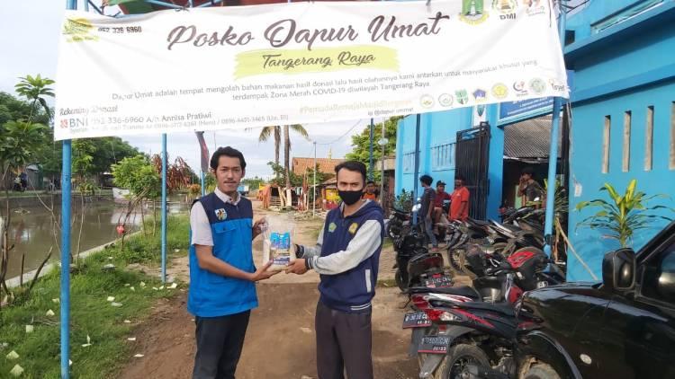 KNPI Kota Tangerang Sebar 2 Ton Beras Bantu Masyarakat Terdampak Covid-19