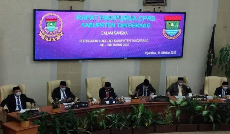 HUT Kabupaten Tangerang Ke-388, Zaki Minta Masyarakat Tetap Gaspol Saat Pandemi
