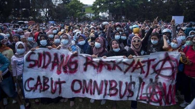 Buruh Bakal Bikin Demo Tolak UU Ciptaker Makin Besar dan Bergelombang Karena Merasa Dikhianati DPR