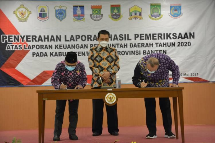 PANTUL (Paten Betul), Pemerintah Kabupaten Tangerang Kembali Raih WTP ke-13 Kali Berturut-Turut dari BPK RI Banten